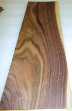 "Rosewood South American Santos wood veneer 6"" x 15"" raw no backer  1/42"" thick"