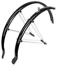 SunLite Full Rain Shield Bicycle Fender Set // 700x45mm Black