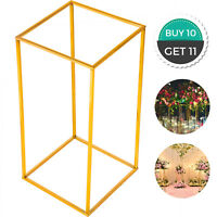Wedding Flower Stand Metal Vase Stand 11pcs Gold Centerpiece Wedding Party Decor