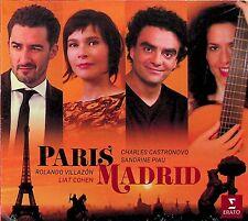 Paris - Madrid: Rolando Villazon & Sandrine Piau CD (NEW) Albeniz/Ravel/Sor