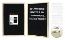 A3 Felt Letter Board Deco Wooden Frame Message Board With Felt Symbol Numbers