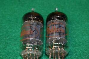 12AX7 ECC83 GE for Baldwin Guitar Audio Vacuum Tubes Tested Pair