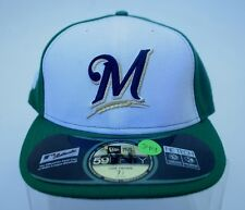 NEW!! Men's Milwaukee Brewers St. Patrick's Day 59Fifty Fitted New Era Cap