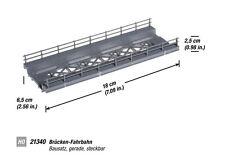 Noch 21340 HO Bridges Road ger. 18cm # NEW ORIGINAL PACKAGING #