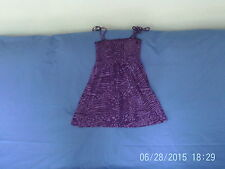 Womens Size 8 - Purple Sleeveless Strappy Tunic Top - Atmosphere
