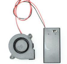 """2"""" Cooling Fan Kit - 9v Battery Powered - For helmet Blower DJ Mask Costume"""