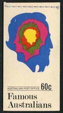 Australia 1970 60c Famous Australians booklet Sg# Sb47 Nh