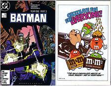Batman 406 DC Comics USA 4/1987 Year One Part 3 Frank Miller David Mazzucchelli