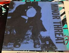 "Minor Threat Filler 7"" EP Kbd Punk Hc Original with 2 inserts"