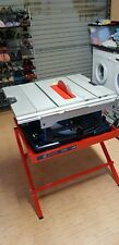 Bosch GTS 10 XC 254mm Table Saw with Leg Stand with Warranty until Jan 2020