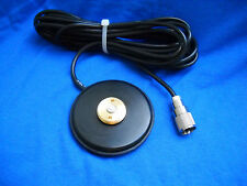 MAGNET BASE NMO MOUNT PL-259 MAGNETIC  UHF VHF ANTENNA BASE NMO MADE IN USA