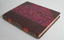 Alphonse Daudet Pages inédites de critique dramatique 1874-1880 demi cuir 1930