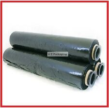 FREE SYD DEL - 1 ROLL 500MM X 400M BLACK 25UM - HAND STRETCH FILM PALLET WRAP