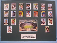 Cleveland Indians 1954 A.L. Pennant Winners