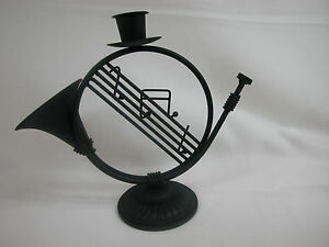 Echoes Last Stock Home Decor Music Candle Holder Metal  #Z24008