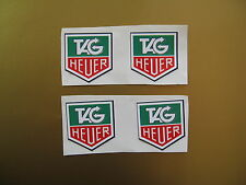 TAG HEUER old style sticker / decal x4