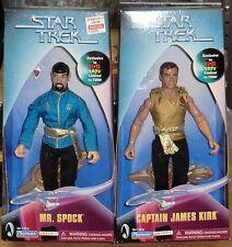 "STAR TREK  CAPTAIN KIRK & MR SPOCK  ""MIRROR MIRROR""    KB EXCLUSIVE  MIB"