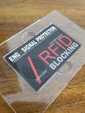 RFID / NFC SIGNAL BLOCKING = CREDIT CARD & SECURE PROTECTOR | $9.99 FOR 2 CARDS
