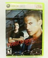 Prison Break: The Conspiracy (Microsoft Xbox 360, 2010) Complete! w/Manual