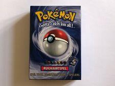 NL/Dutch Pokemon Base Set 2 2-Player Starter Set - NEW 1999