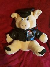 "Harley-Davidson Cycles Pig Hog Stuffed Plush Jacket 13"" Biker Animal"