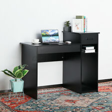 US Office Computer Desk Table Furniture Laptop Top Bookshelf With Drawer Shelves