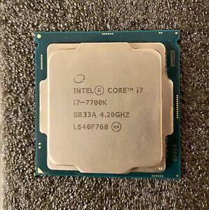 Intel Core i7 7700K 4.2 GHz Quad-Core CPU Processor