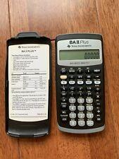Texas Instruments BA II 2 Plus Financial Calculator || Great Condition