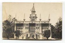 Uruguay - Montevideo - Legacion Argentina  - old Velox real photo postcard