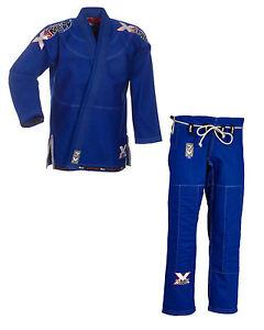 """BJJ-Anzug """"EXTREME Blue 2.0"""". Größe A1-A6. Grappling. Brazilian Jiu Jitsu. Gi."""