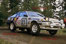 Antero Laine Mitsubishi Starion Turbo 1000 Lakes Rally 1986 Photograph 1