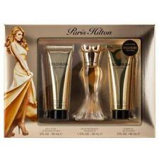 3pc Gift Set Paris Hilton GOLD RUSH 1oz EDP Spray & Lotion / Gel  NIB (507)
