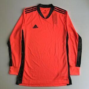 adidas Mens Medium ADIPRO 20 Goalkeeper Soccer Jersey Coral Black New FI4191
