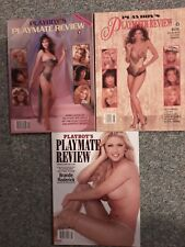 Playboy  Press Playboys Playmate Review Lot of 3 Premier Edition 1st Edition