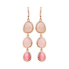 Trendy Dangle Long Earrings Beautiful Crystal Stone Hook Drop Earrings Boutique
