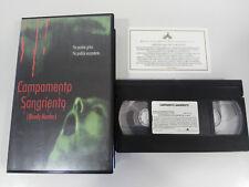 CAMPAMENTO SANGRIENTO BLOODY MURDER RALPH PORTILLO TERROR HORROR VHS ESPAÑOL &