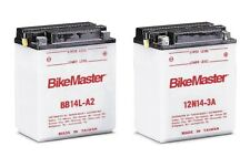 BikeMaster YB14L-A2 Yumicron Battery Kit with Acid Pack BB14L-A2 EDTM2214Y