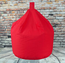 Red Bean Bag 100% Cotton Large Red Bean Bag Filled Approx 3 cubic feet