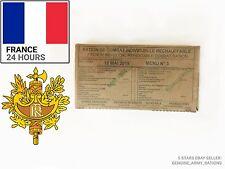 La Francia esercito razione Scatola. razione Militare -24 ore-pasti pronto da mangiare (MRE)