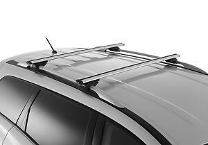 New Genuine Nissan Pathfinder R52 Roof Cross Bar Rack Set Kit June 2013 On