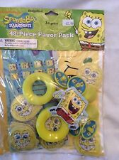 Spongebob Party Supplies-Party Favors-48pc favor pack