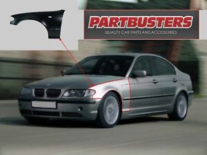 BMW 3 E46 SALOON/TOURING 2001-2005 FRONT WING PASSENGER SIDE INSURANCE APPROVED