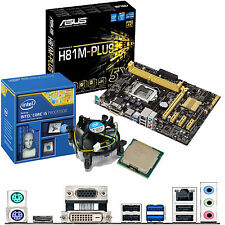 INTEL Core i5 4690K 3.5Ghz & ASUS H81M-PLUS - Motherboard & CPU Bundle