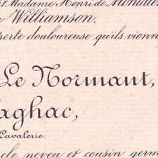 Robert Joseph Marie Le Normant De Flaghac 1890 Cannes