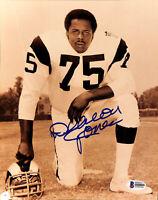 Rams Deacon Jones Authentic Signed 8x10 Photo Autographed BAS