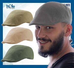 Coppola Uomo Cappello Siciliana Cotone da Gatsby Basco Berretto Cappellino