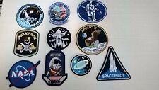 10 parches termoadhesivos Espacio Nasa Apolo 11