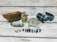 Galoob Star Wars Micro Action Fleet Vehicles & Figures Bundle TIE Fighter