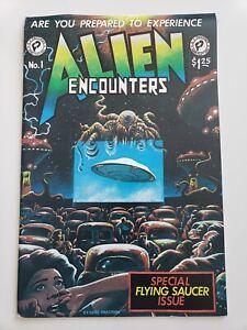 ALIEN ENCOUNTERS #1 (1981) FANTACO COMICS GEORGE CHASTAIN COVER! STEVE BISSETTE!