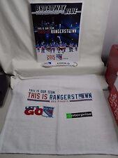 New York Rangers 2015 Playoffs Program Wristband Bracelet Rally Towel Game 1